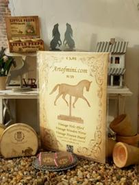 Vitage Houten Paard van Art of Mini