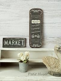 Witte Hortensia- Petit Huset Stijl