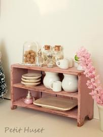 Roze Kastje in Shaker stijl-VERKOCHT