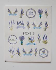 Fijne Lavendel Decals