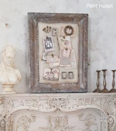 Antieke Lijst als Prikbord