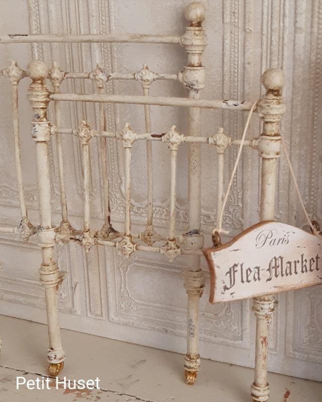 Antiek Franse Bed Einde,s