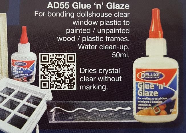 Glue 'n' Glaze voor Plexiglas- TIJDELIJK UITVERKOCHT