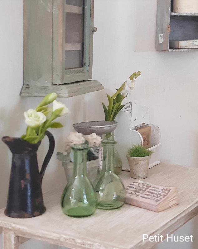 Groene Laboratorium Fles