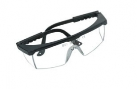 Veiligheidsbril met verstelbare pootjes en krasvaste lens