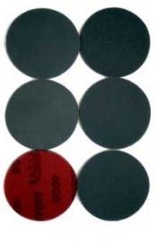 Schuurschijf Silicium Carbide geschikt voor steen met klitrug 115mm set van 8 stuks k40 tot en met K1200