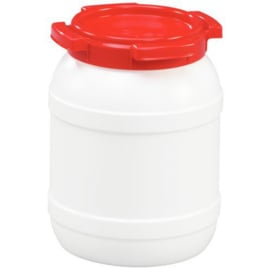 Latex vloeibaar of vloeibaar rubber 20 liter verpakking in vat met schroefdeksel