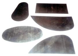 Lomer metaal set van 5 stuks