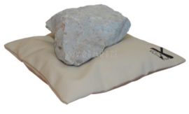 Beeldhouwkussen of Steunzandzak voor beeldhouwen ca 45x45cm leeg