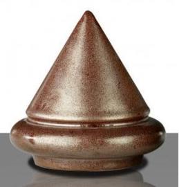 Glazuur metaal bruin zijdeglans 100 gram poeder 1020 - 1080 °C
