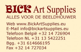 Visitekaartjes BICK Art Supplies
