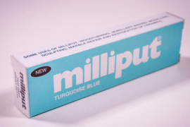 Milliput Turquoise 113,4 gram verpakking