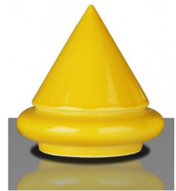 Glazuur zonnegeel glans 100 gram poeder 1020 - 1080 °C