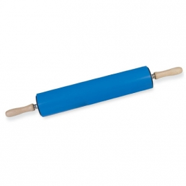 Kleiroller kunststof blauw met kogellagers 70 cm