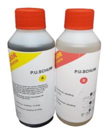 Polyurethaanschuim 2 componenten set van 2 liter