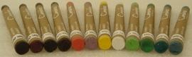 Waskrijtjes voor op elke keramische ondergrond doos met 10 kleuren aardewerk