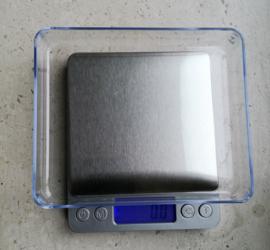 Precisieweegschaal Digitaal tot 3 KG 0,1 gram stappen