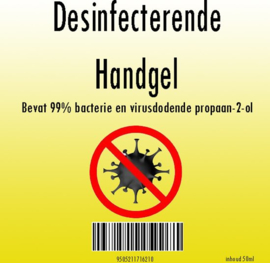 Desinfecting Hand sanitizer 50ml