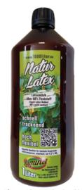 Flüssiglatex NATUR 1 Liter green line Maskenbildner Givul, vorvulkanisiert Basteln Latexmilch Latex 1000 ml