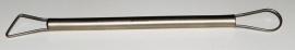 Mirette draad RVS met stalen snijvlak dubbelzijdig 19cm LSS382