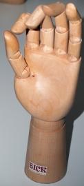 Modelhand 25 cm