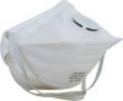 Stofmasker FFP2, equivalent aan US standard N95 houdt ook zeer fijne deeltjes tegen 94% filtering