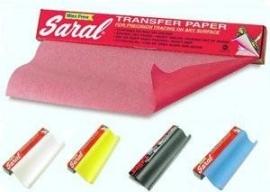Transferpapier  / Saralpapier (als Carbonpapier)