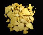 Zwavellever kaliumpolysulfide  100gr brokken