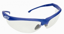 Veiligheidsbril met verstelbare pootjes en krasvaste lenzen