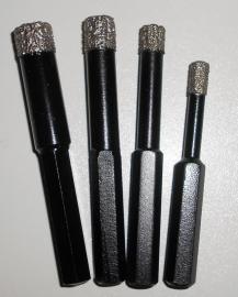 Diamantboor met smeer/koelmiddel