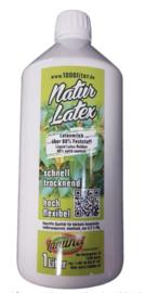 Flüssiglatex NATUR latex 1000 ml Maskenbildner green Line Latexmilch Latex 1 Liter Givul, vorvulkanisiert