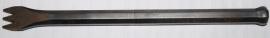 Tandijzer Smeedstaal 3 tanden 20mm breed lang 210mm zware uitvoering