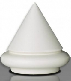 Glazuur wit glans poeder 100gram 1020 - 1080 °C