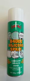 Siliconen spray FOOD GRADE, ook losmiddel voor mallen 300ml spuitbus