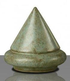 Glazuur blauwkwarts zijdeglans 100 gram poeder 1020 - 1080 °C