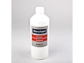 Aceton 1 liter verpakking.
