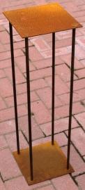 Open sokkel staal 4 staven van 12mm dikte