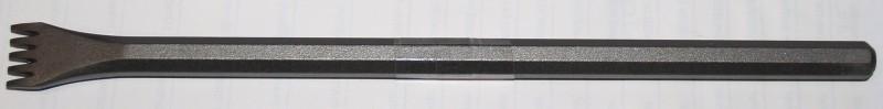 Tandijzer Smeedstaal 18mm 5 tanden klopperkop