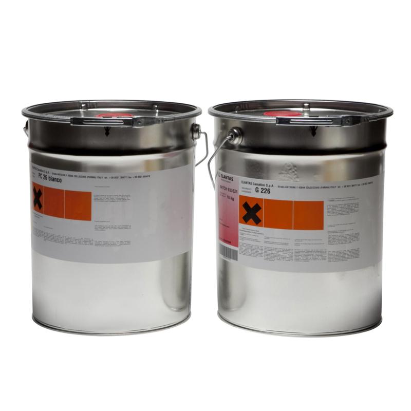 Polyurethaanhars wit 2 kg set