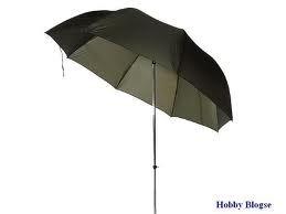 Parasol/paraplu voor op de beeldhouwbok
