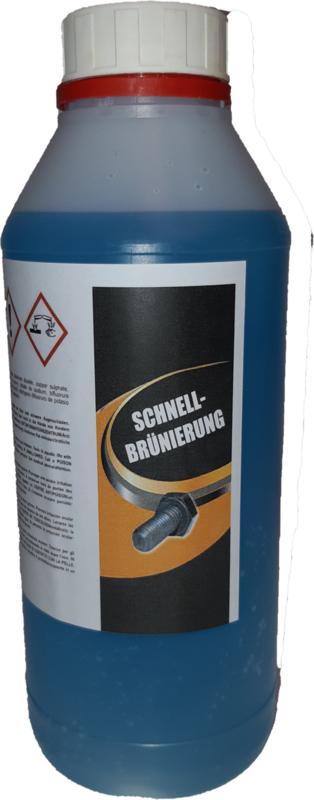 Patina zwart op ijzer en staal  koudblauwen, browning 5 liter verpakking