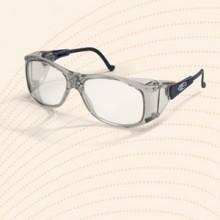 Veiligheidsbril op sterkte met diverse opties, aangepast aan uw wensen.