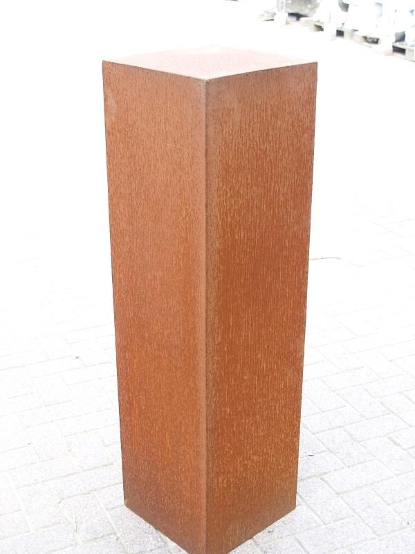 Cortenstaal 2mm dikte 10x10x100cm