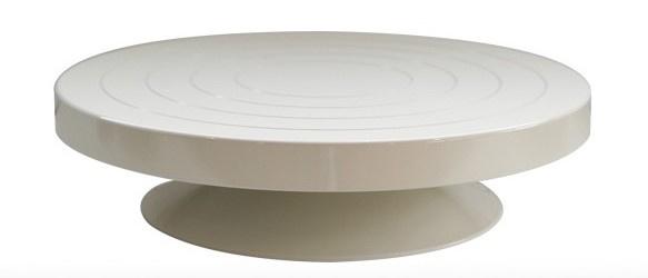 Draaischijf gietijzer 30cm diameter 7,5 cm hoogte