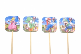 Super Mario traktatietaart