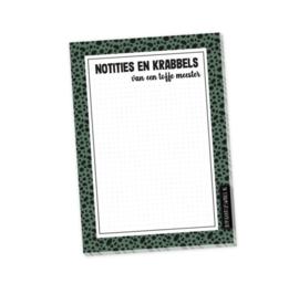 Notitieboekje voor de tofste meester