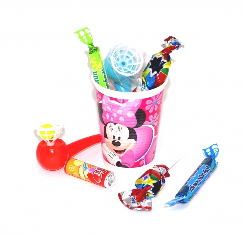 Minnie Mouse traktatiebekers