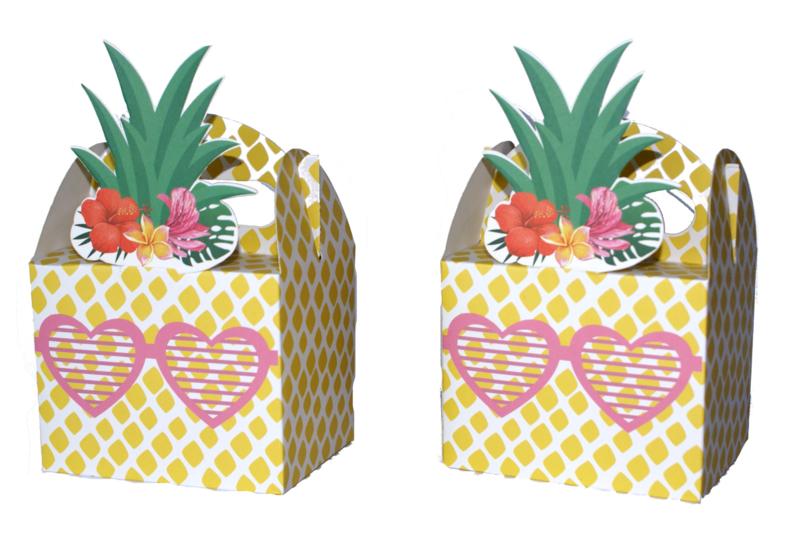 Tropische Ananas traktatie