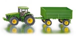 Siku 1953 - Tractor met aanhanger (schaal 1:50)