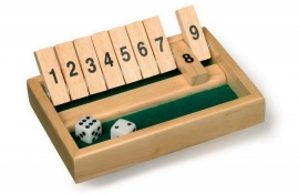 Shut the box - klein